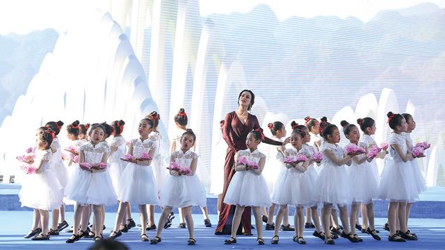 2019國際山地旅遊暨戶外運動大會開幕式歌唱表演