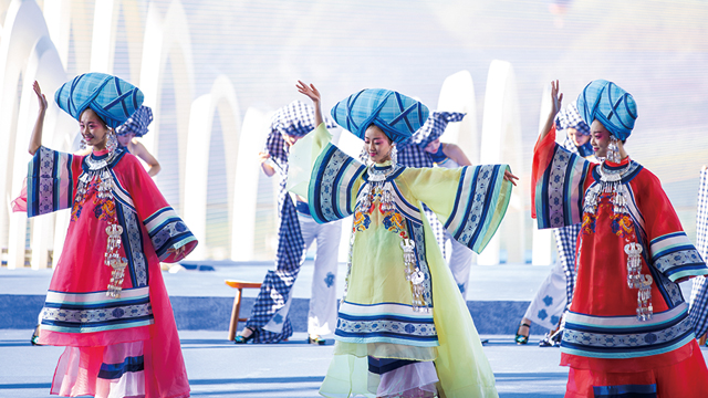 2019國際山地旅遊暨戶外運動大會開幕式民族舞蹈
