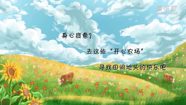 """身心疲憊?去這些""""開心農場""""尋找田間地頭的快樂吧"""