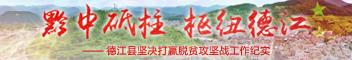 德江縣堅決打贏脫貧攻堅戰工作紀實(shi)