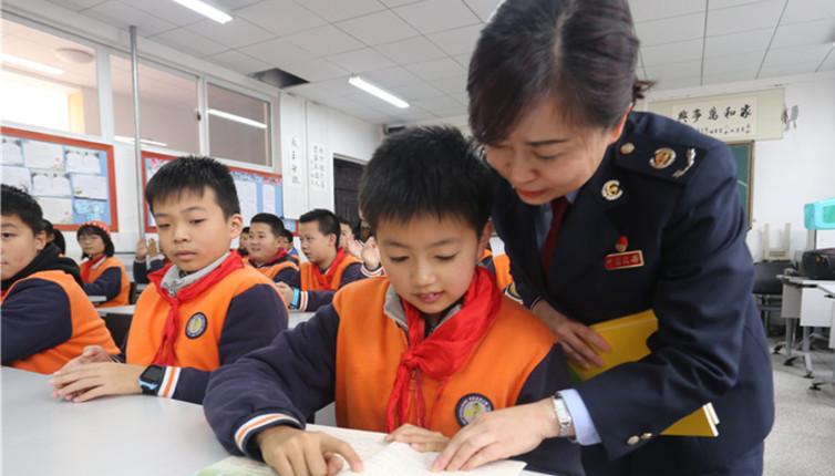 貴州貴陽:憲法進校園
