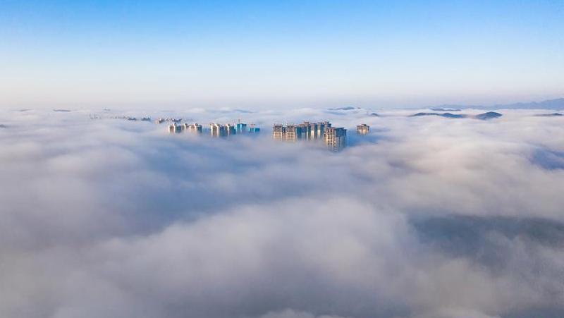 貴陽:霧中仙境