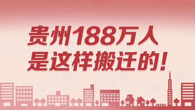 貴州(zhou)188萬人是這樣搬遷的!