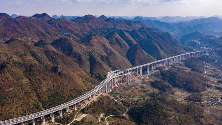 貴州:紫望、平羅兩條高速公路通車運營