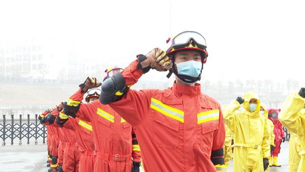 貴州省首支防疫消殺機動隊正式出徵