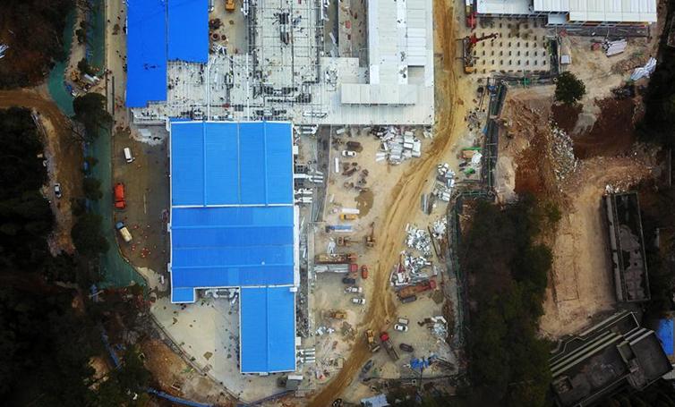 貴州省將軍山醫院建設進入衝刺階段