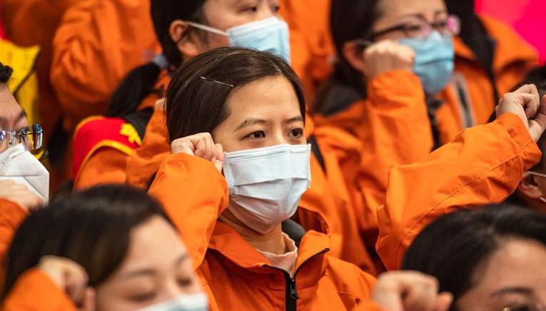 貴州第九批支援湖北醫療隊出徵