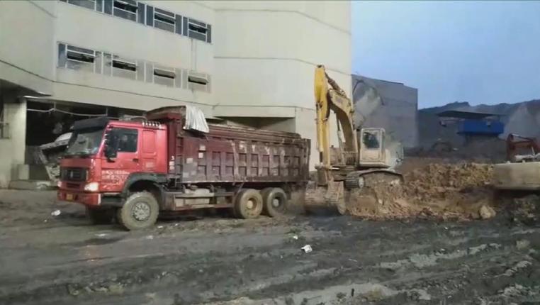 貴陽混凝土公司滑塌事故:搜救出9人中4人無生命體徵 失聯3人還在持續搜救