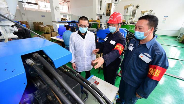 貴州湄潭:為企業保電支持復工復産
