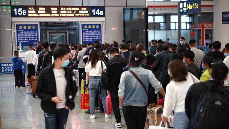 貴陽鐵路客運發送量恢復明顯