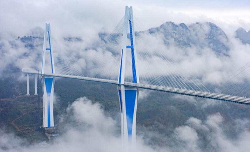 貴州平塘特大橋宣布建成通車