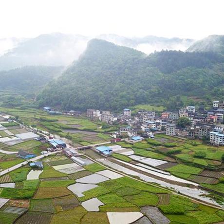 貴州從江貫洞鎮臘全村:雨後景色美若畫卷