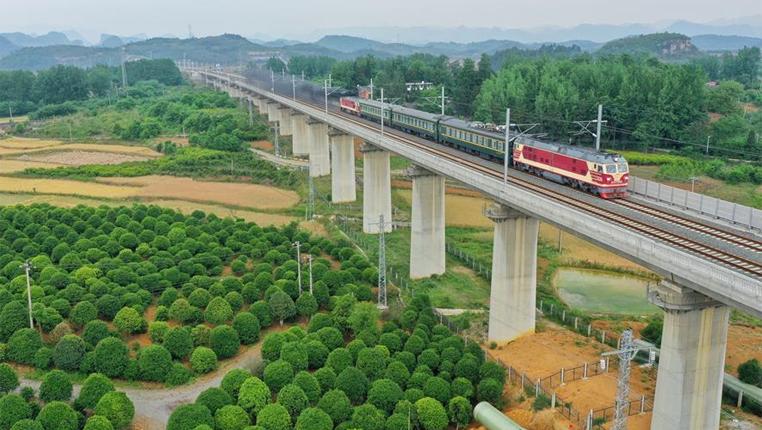 新建安順至六盤水鐵路進入聯調聯試階段