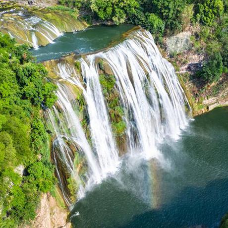 貴州安順黃果樹景區:旅遊逐步回暖