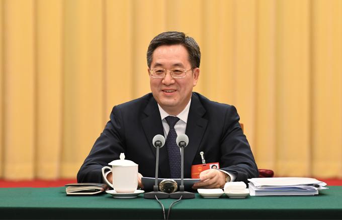 丁薛祥參加貴州代表團審議