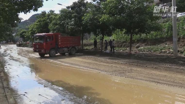 貴州正安遭強降雨襲擊 救援人員講述現場情況