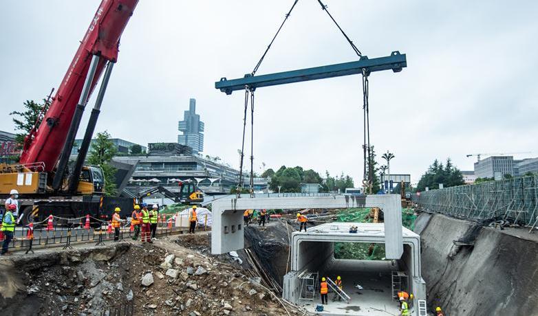 貴州省首例裝配式人行地下通道在貴陽成功運用