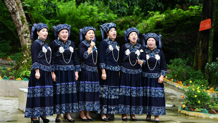 貴州龍裏:山歌傳唱新時代文明