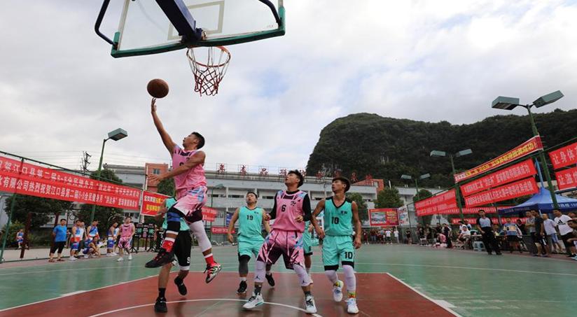 貴州江口:全民健身 健康生活