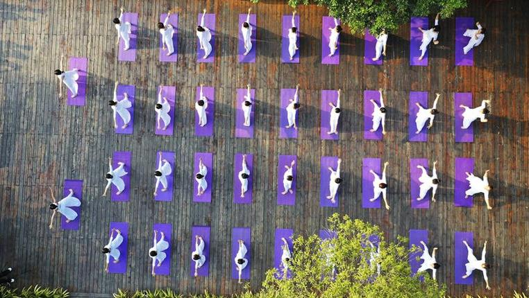 全民健身——青山綠水秀瑜伽