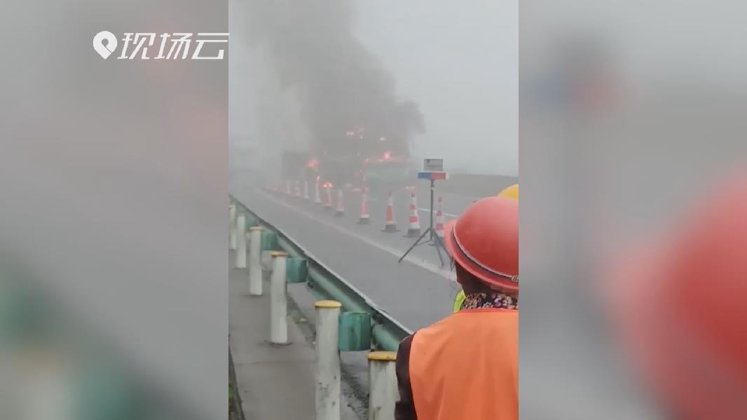 慘痛!貴州畢節兩客車追尾致7人遇難