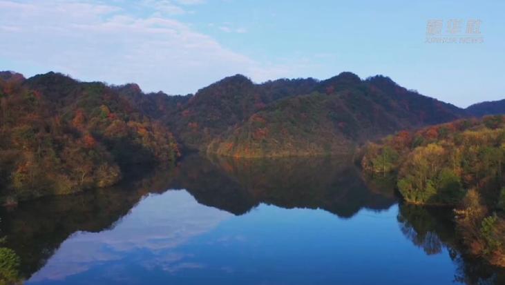 """貴州寬闊水原始森林""""色彩綻放"""" 美如仙境"""