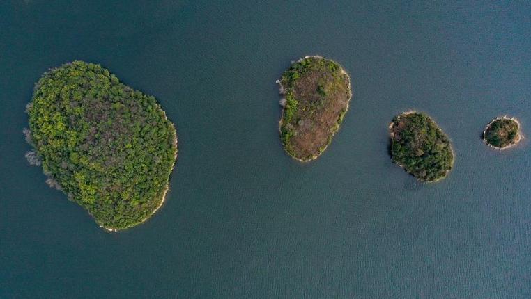 阿哈湖:春天的顏色