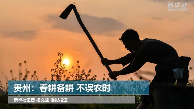 貴州:春耕備耕 不誤農時