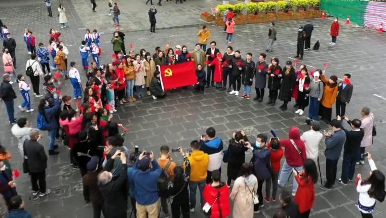 貴州:遵義會議放光輝 聲聲紅歌感黨恩