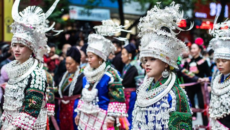 微視頻丨貴州臺江:歡度苗族姊妹節