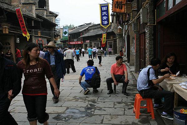 中南門古城印象