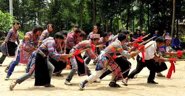 普安苗族蘆苼舞