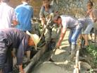 織金龍場鎮修建連戶路 已完成12.5公裏