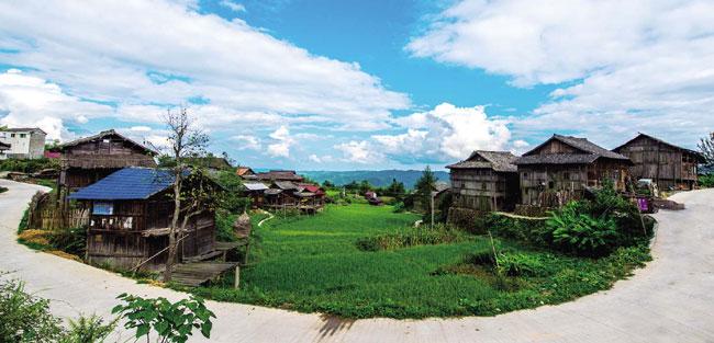 寧靜的侗寨
