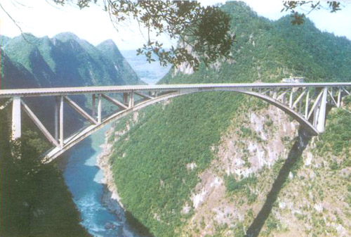 江界河大桥;; 江界河风景名胜区; 瓮安江界河